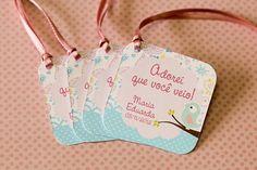 Pássaros - Duda    http://blog.tuty.com.br/    Papelaria de festa