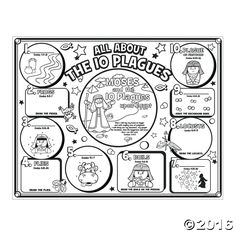 Instructive Ten Plagues Of Egypt Coloring Pages Luxury 10 Preschool To Funny Bible Sunday School Activities, Bible Activities, Sunday School Lessons, Sunday School Crafts, Sabbath Activities, Religion Activities, Bible Games, Plagues Of Egypt, 10 Plagues