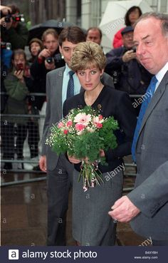 Princess Diana at Parkinsons Disease society April 1992 Princess Diana returned to her first engagement since her father Earl Spencer passing.