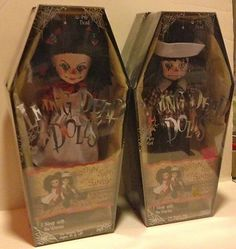 $50.00 Rotten Sam and Sandy Living Dead Dolls Collectibles  10%- of the final sale price will support ASPCA: American Society for the Prevention of Cruelty to Animals-