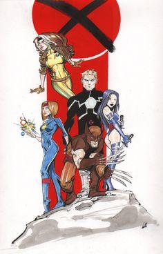 Outback X-Men by Joelle Jones