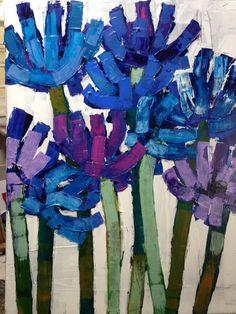 Anna Blatman - beautiful brush strokes and texture