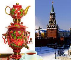 El samovar es imprescindible casi en cada hogar ruso. Es una especie de calentador de agua. El samovar tiene en su exterior un grifo, que se cierra con una espita, por donde sale agua caliente. Arriba, sobre el depósito, siempre hay una tetera con un concentrado de té llamado zavarka. En el vaso se vierte una cuarta parte de té, y después se acaba de llenar de agua caliente, se toma endulzado con azúcar o un poco de mermelada.  ¿Sabía usted que hoy en Rusia se celebra la Navidad?…