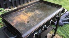 You will learn in this post what makes the rust on the Blackstone griddle, how to store and clean the Blackstone griddle after cooking. How To Clean Stone, How To Clean Rust, How To Remove Rust, Propane Griddle, Griddle Grill, Cleaning Stone, Grill Cleaning, Cleaning Tips, Iron Cleaning