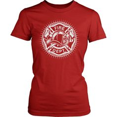 f341e3955 Firefighter T-Shirt Design - Fire Department