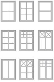 Posts and glazing bars Moulded Wood - Tillbehör - Windows from Tanums Fönster Wood Windows, House Windows, Windows And Doors, Glass Porch, Interior Windows, Dream House Exterior, Window Styles, House Extensions, Scandinavian Home