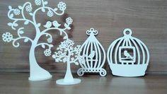 Peças em mdf para decoração provençal | ateliê mãos pintadas | Elo7