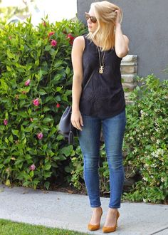 Black Embroidered Top