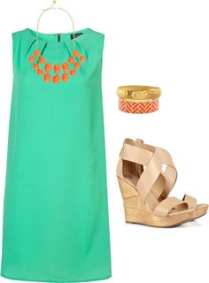 Summer Date Night, created by meghanallred on Polyvore clothing-shoes-accessories