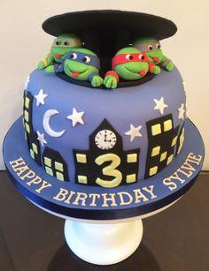 My Teenage Mutant Ninja Turtles cake