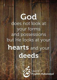 Quotes of Prophet Muhammad (PBUH)