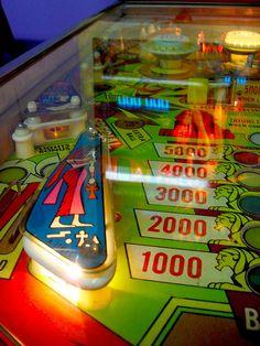 1970s Cleopatra PINBALL MACHINE Zerns Flea Market ARCADE Vintage Game B by Christian Montone, via Flickr Vintage Games, Vintage Toys, Pinball Wizard, Flipper, School Games, Candyland, Arcade Games, Childhood Memories, Game Rooms