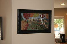 Autumn forest By Michelle Lowe https://www.facebook.com/greenlizardmosaics
