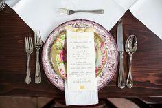 vintage china   Theo Milo #wedding
