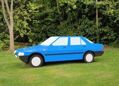 Julian Opie. Imagine you are driving a blue honda, 2004. Drive A, Design Art, Graphic Art, Honda, Product Design, Car, Wheels, Blue, Automobile