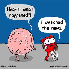Heart Vs. Brain: Funny Webcomic Shows Constant Battle Between Our ...