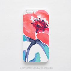 Coral Floral original design iPhone 5S case, iPhone 5/5S, iPhone 5C, iPhone 4/4S, Samsung Galaxy and iPad cases