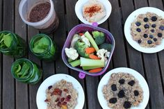 Plan and prep: one hour, $20, one week of clean eats | The Fitnessista | Bloglovin'