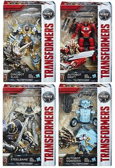 The Last Knight Deluxe Transformers MV5 Steelbane Premier Edition Action Figure