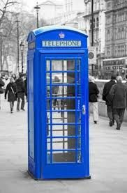 Image result for beautiful blue phone box