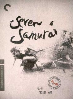 Poster for Seven Samurai, by Neil Kellerhouse