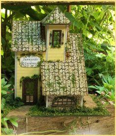 Watercolors   Sunnyside Gardens House Kit