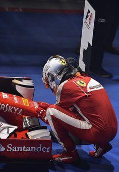 Forza Ferrari e Sebastian Vettel!