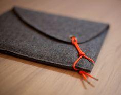 sCosy dark gray with neon orange elastic string