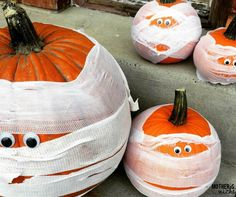 Easy and ADORABLE Pumpkin Carving Alternatives