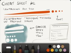Cheat sheets for 53's Paper App.