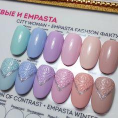 City Woman и Empasta Fashion фактуры))) Тружусь))) #нейларт #ногтировно…