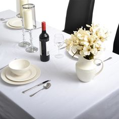 Tablecloths Are Worthy and Valuable!  No matter how expensive your table and other dining accessories are, they remain incomplete without an elegant looking table cover. We list below the benefits of having a table cloth.  Hello Deals have a wide range of table cloths. Buy here: http://www.hellodeals.com.au/table-cloth/