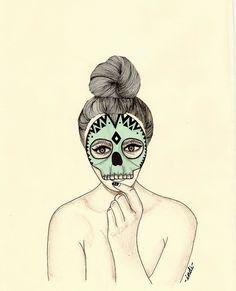 Illustratios #2 by Indi Maverick, via Behance