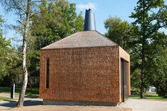 matteo thun designs fire house with carbon neutral footprint