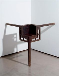 Find artworks by Ai Weiwei (Chinese, on MutualArt and find more works from galleries, museums and auction houses worldwide. Wei Wei, Ai Weiwei, Isamu Noguchi, Used Chairs, Corner Table, Colorful Chairs, Conceptual Design, Art Furniture, Chinese Painting