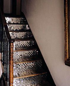 escaleras espejo decorar escaleras