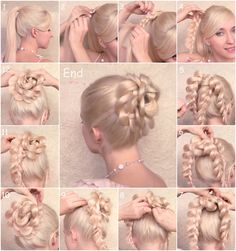 Ballroom hair inspiration