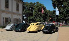Czechoslovak Pre-WWII Aerodynamic Automobiles - Zbrojovka, Tatra, Wikov, Skoda