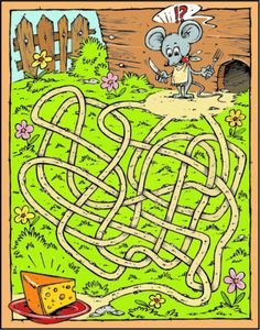 Illustration about Cartoon Maze with Mouse & Cheese. Best cartoon drawing for kids. Illustration of home, happiness, cheerful - 8995858 Visual Perceptual Activities, Motor Activities, Therapy Activities, Activities For Kids, Cartoon Drawing For Kids, Improve Writing Skills, Contexto Social, Maze Worksheet, Vision Therapy