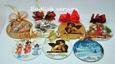 Recycled CD-DVD Christmas Tree Ornament - Decoración navideña con CD-DVD reciclados - YouTube