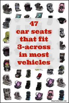 Kids Safety pinnable car seats graphic - Few people want to buy a new car just because they had a third child. But once the number of children you have exceeds your total number of arms, trying to f. Having A Third Child, Cheap Baby Stuff, Kid Stuff, Baby Number 3, Love My Best Friend, Preparing For Baby, Third Baby, Baby Center, Triplets