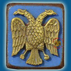 Religious Gifts, Religious Icons, Eagle Icon, Imperial Eagle, Byzantine Art, Art Store, Christen, Kirchen, Christian Faith