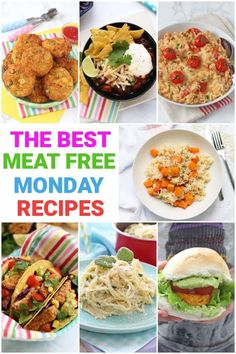 Meat Free doesn't have to mean bland or lacking in flavour! And what's even better is all these recipes are really easy to make, suitable for whole family and are all quick to put together on a busy Monday night! Free Kids Meals, Easy Meals For Kids, Easy Family Dinners, Healthy Family Meals, Healthy Meal Prep, Healthy Recipes, Healthy Eating, Vegetable Pasta Recipes, Roasted Vegetable Pasta