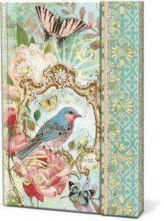 Punch Studio Everyday Magnetic Closure Journals - Beautiful Floral Bird 58299 #PunchStudio