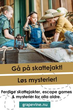 Treasure hunts and mystery for kids of all ages. Read our top tips here with grapevine. All you need to invite the kids on a fun treasure hunt innne or out. Escape The Classroom, Escape Room For Kids, Beste Mama, Crawling Baby, All Family, Outdoor Games, Summer Diy, Kids House, Kids And Parenting