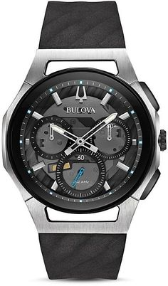 Bulova Curv Watch, 44mm