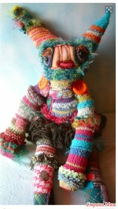 Шуточный пост по текстильным игрушкам. И с ними тоже играют!