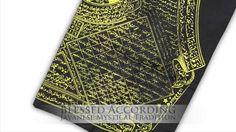 Pusaka Bag made from Sacred Cloth covered in Islamic Incantations