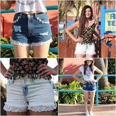 DIY shorts from Macbarbie07
