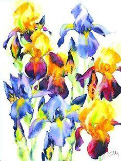 Planche Iris I by Marc Folly
